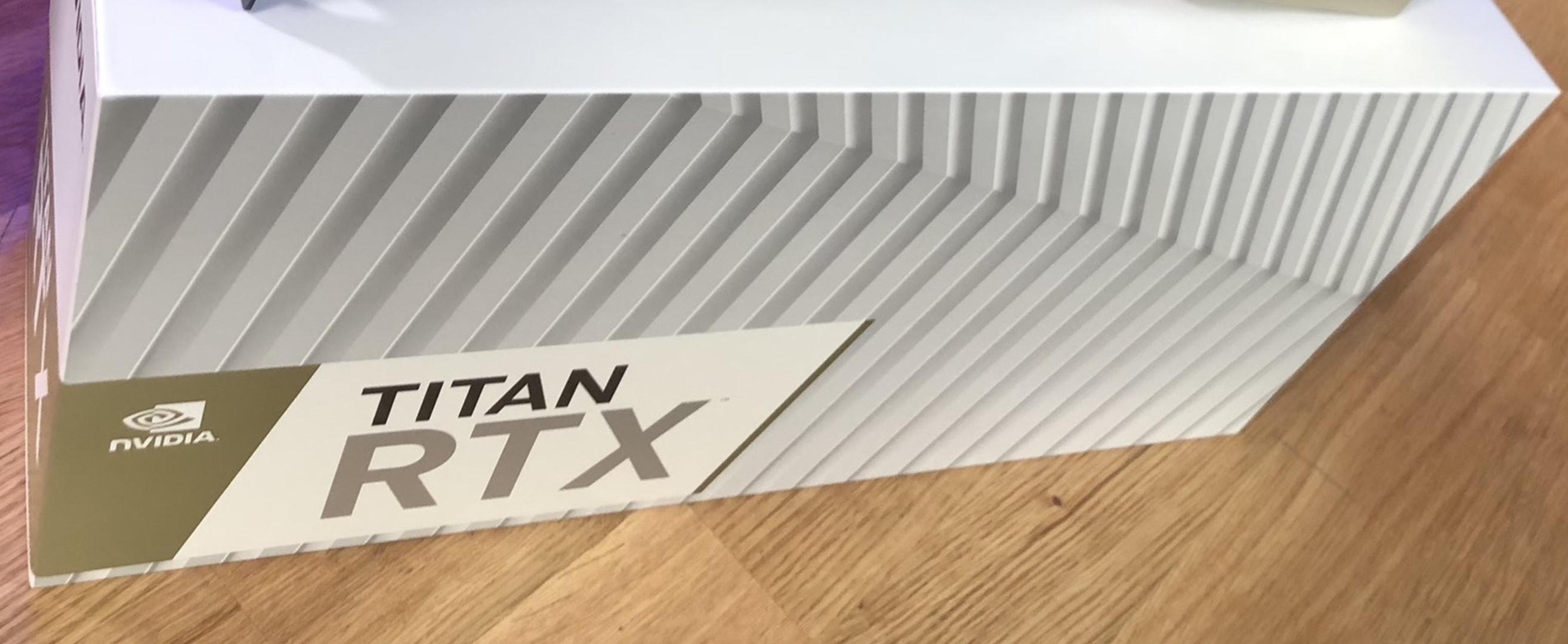 RTX TITAN NVIDIA TURING