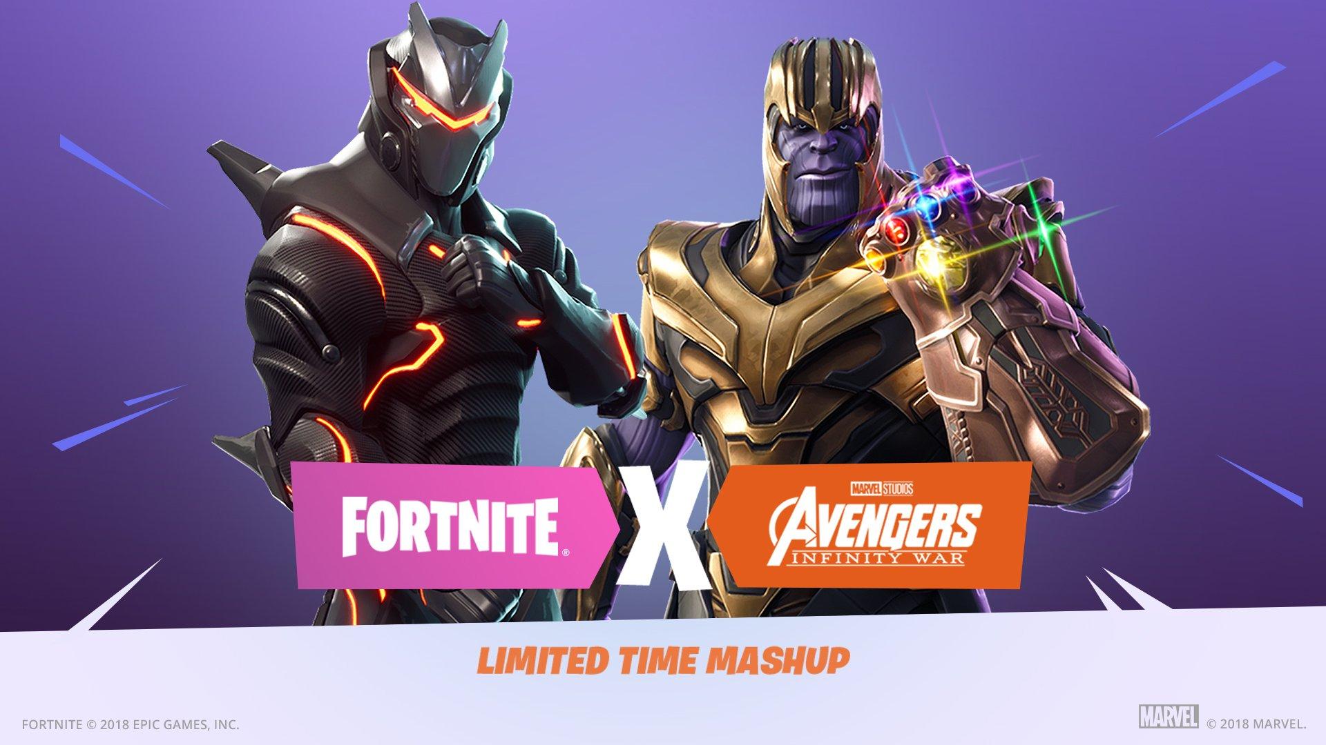 Fortnite Thanos Infinity War PUBG
