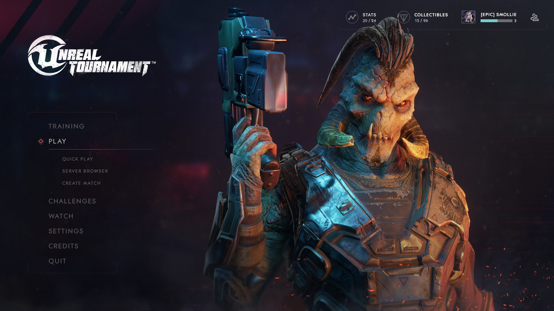 Unreal Tournament Epic Games Free to Play