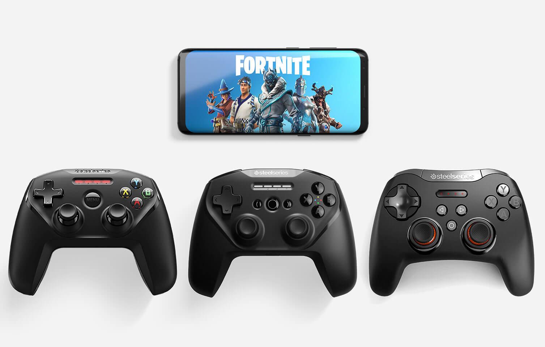 متحكمات SteelSeries تتكامل مع لعبة Fortnite
