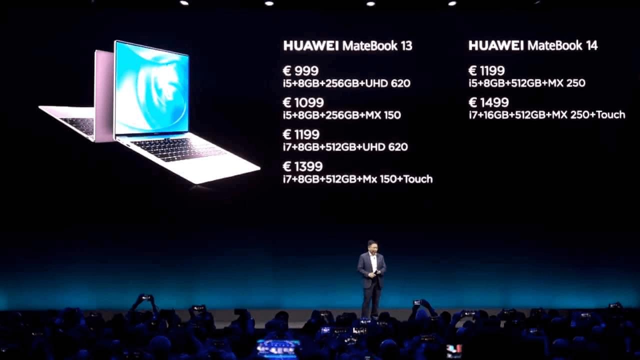 موعد توفر وسعر جهاز MateBook X Pro