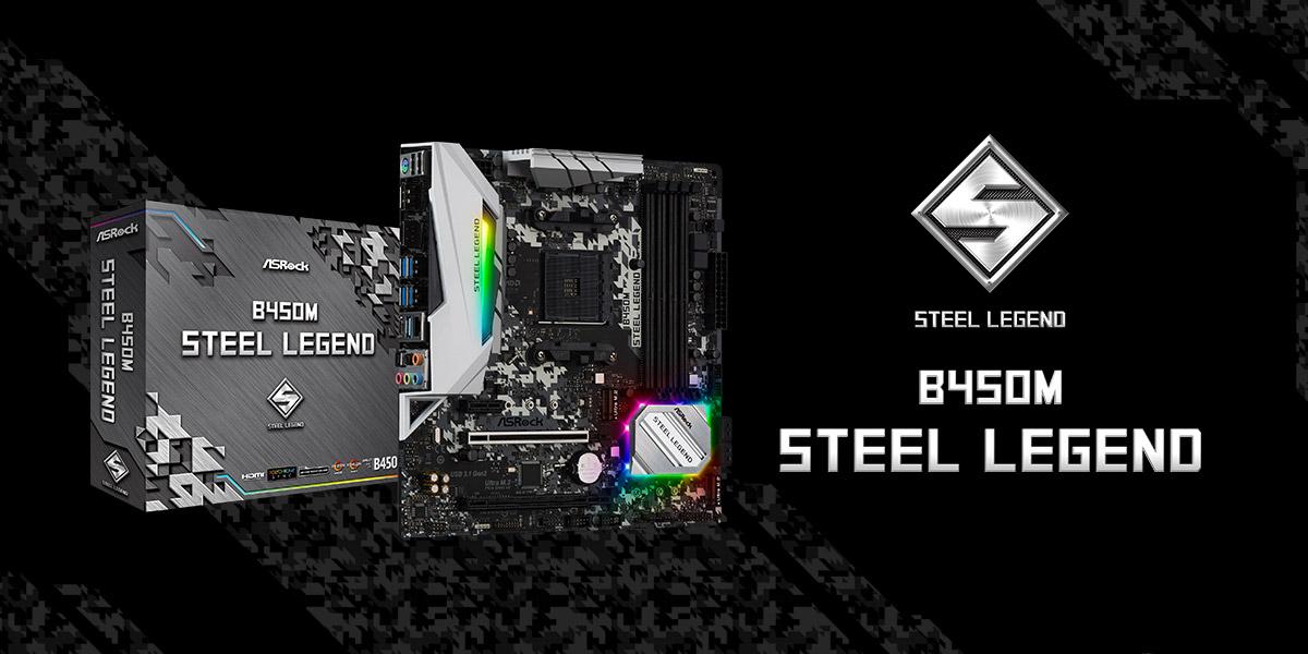 AMD B450 ASRock