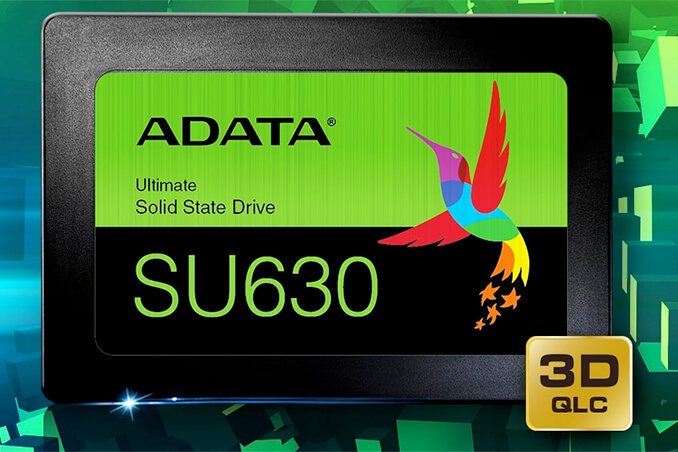 ADATA Ultimate SU630 SSD QLC NAND Flash