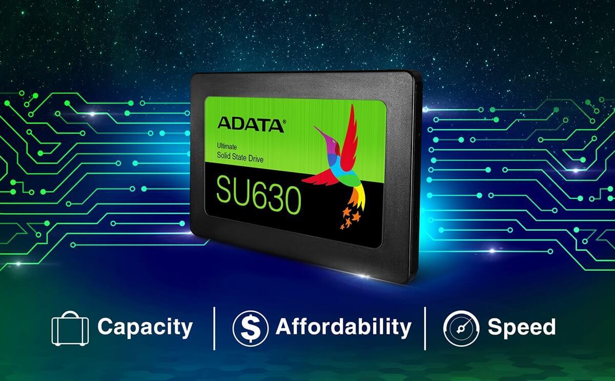 ADATA Ultimate SU630 SSD QLC NAND Flash