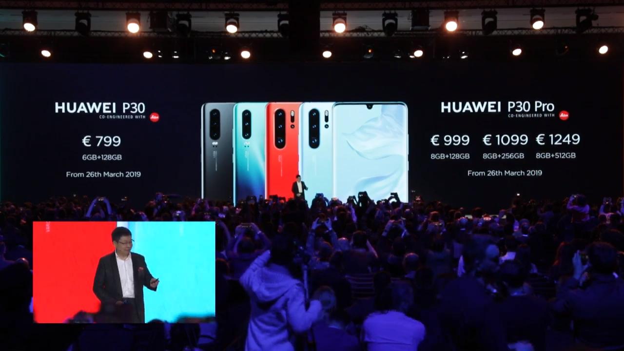 مُميزات ومواصفات هاتف Huawei P30