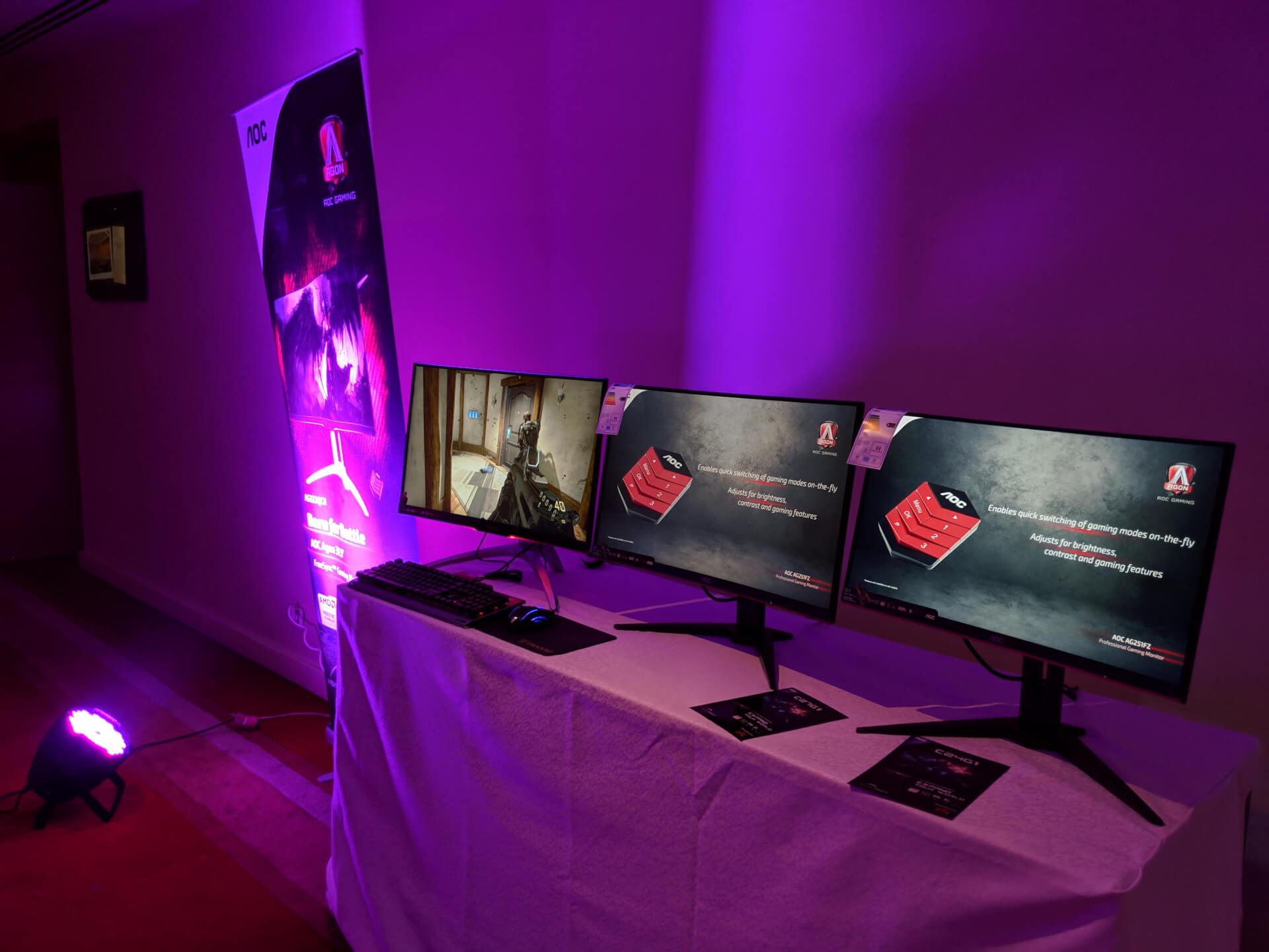 شاشات AOC الجديدة في السوق المصري