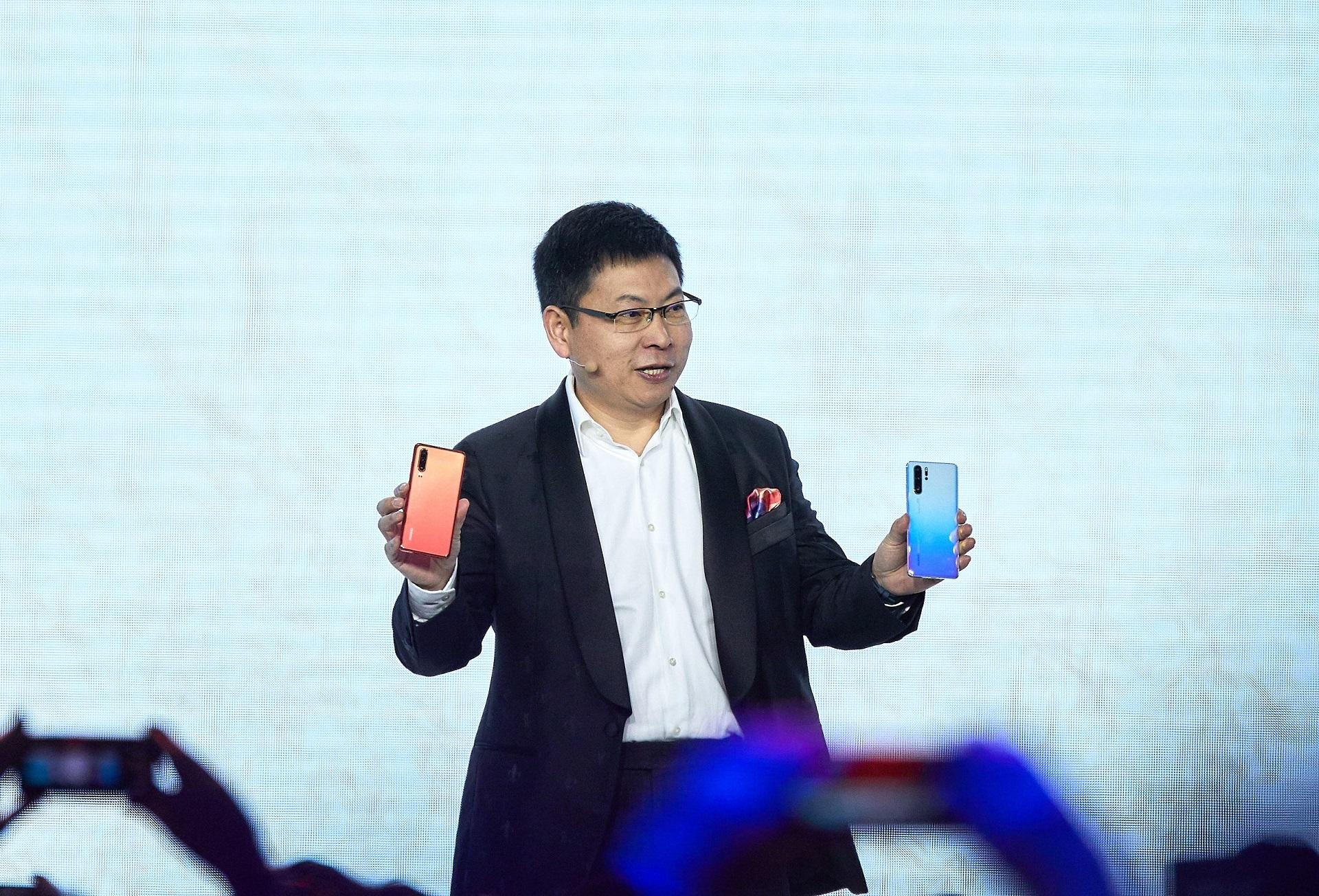 مميزات هواتف Huawei P30