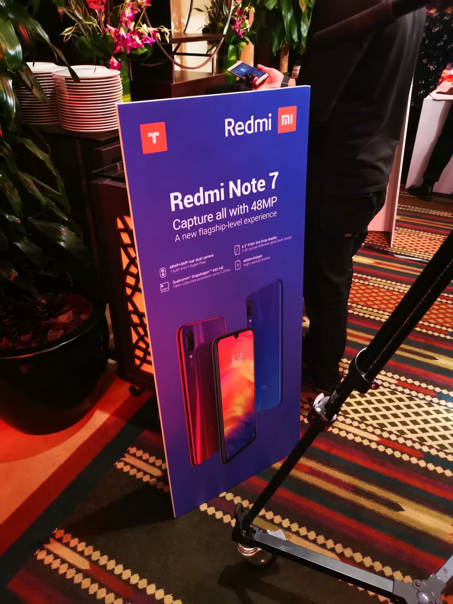 سعر ومواصفات هاتف Redmi Note 7 الجديد