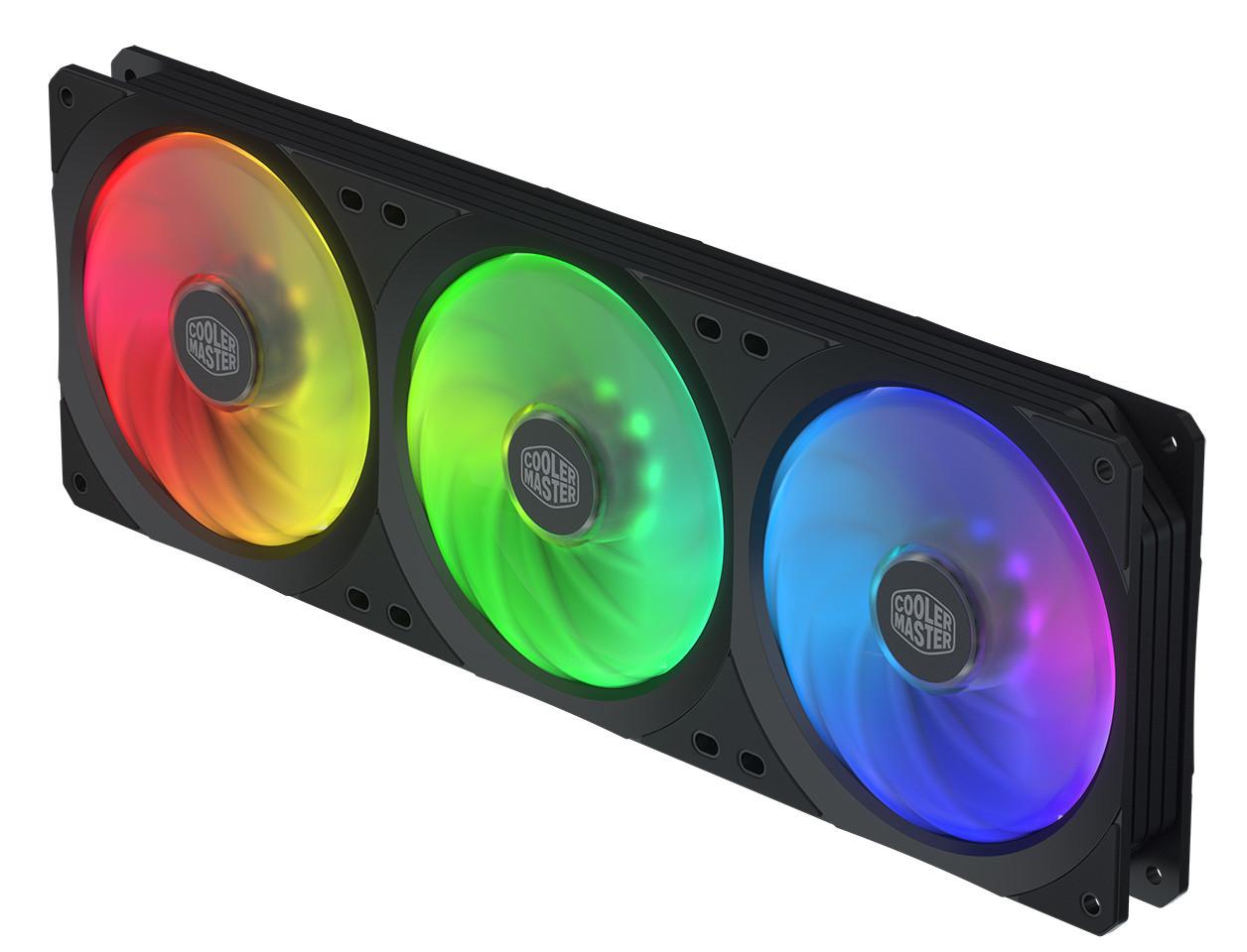 الكشف عن السلسلة الجديدة Cooler Master Square Fan من مراوح التبريد