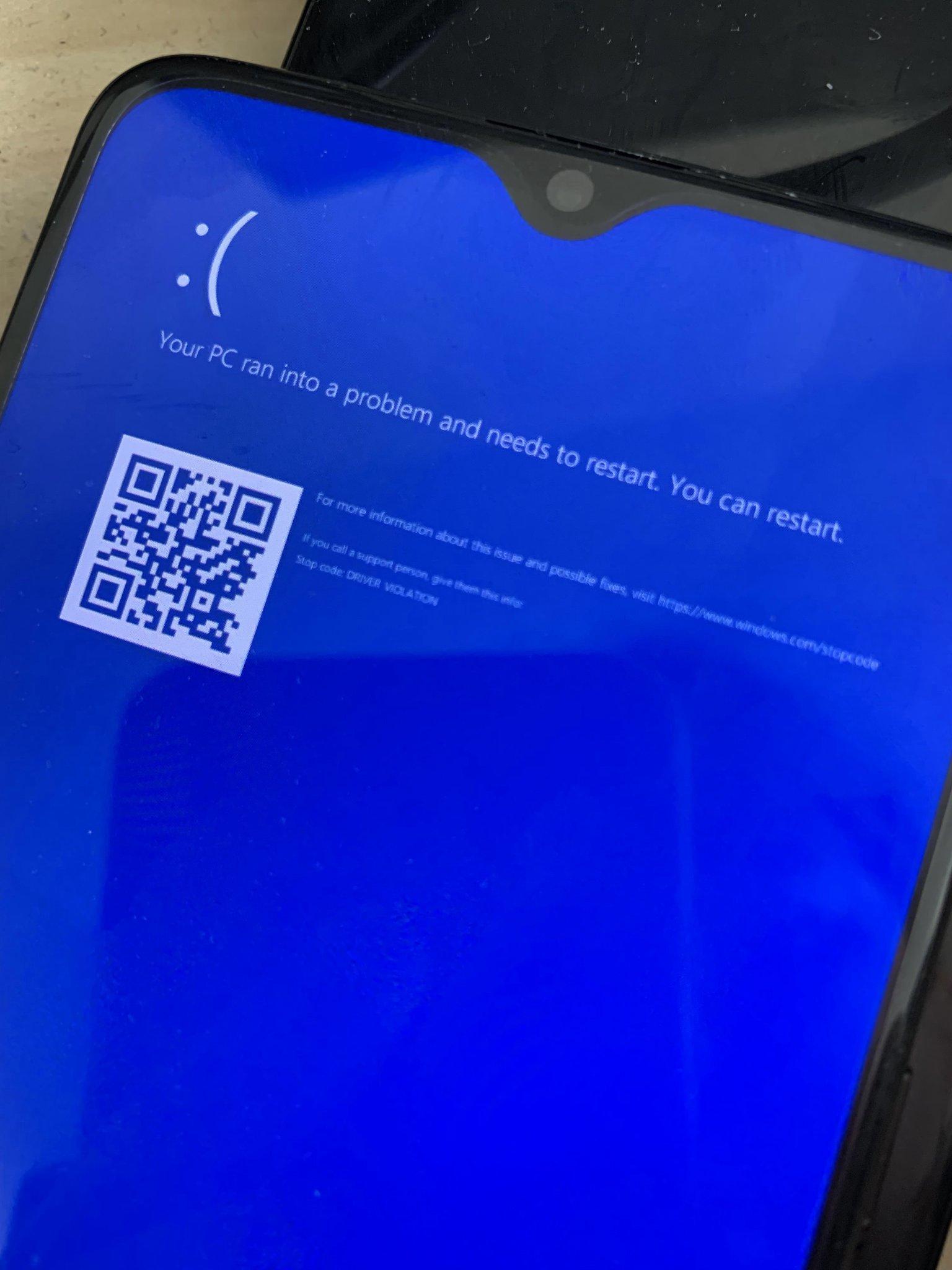 ويندوز 10 - OnePlus 6T