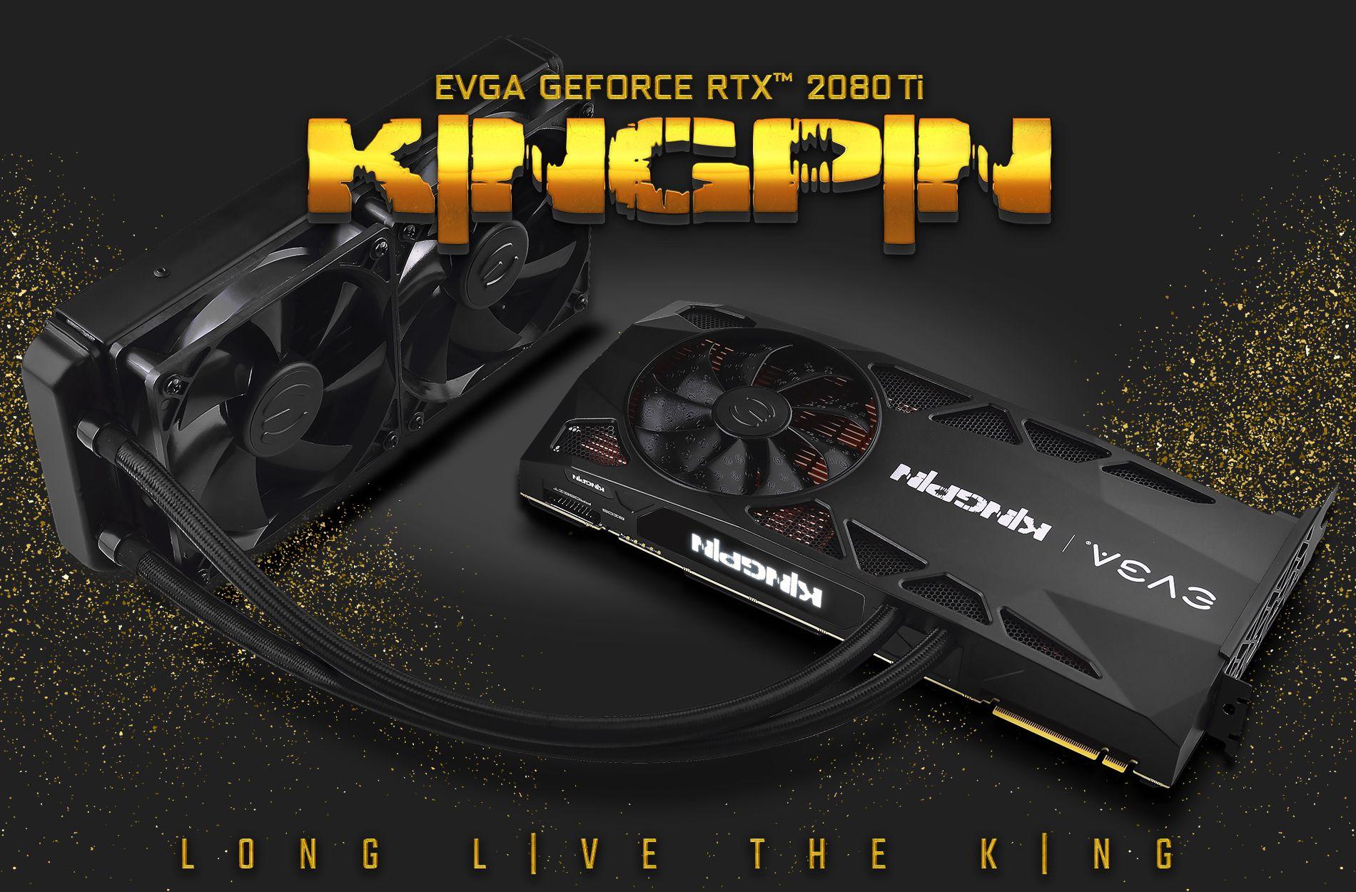 أقوى بطاقات كسر السرعة EVGA RTX 2080 Ti KINGPIN متاحة الان بسعر 1900 دولار