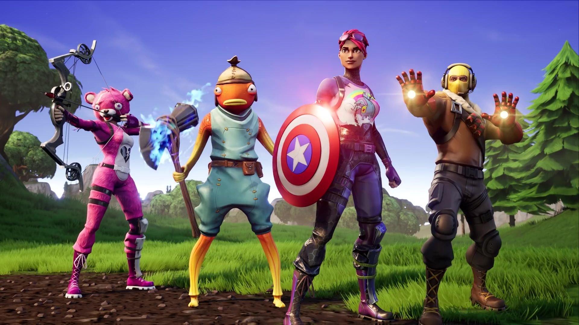Fortnite X Avengers