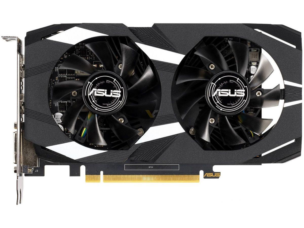 بطاقة ASUS Dual GeForce GTX 1650