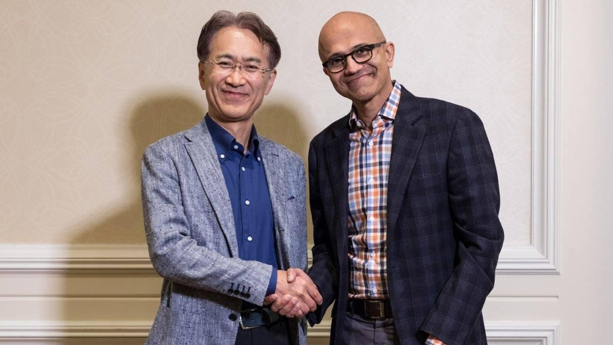 Sony & Microsoft