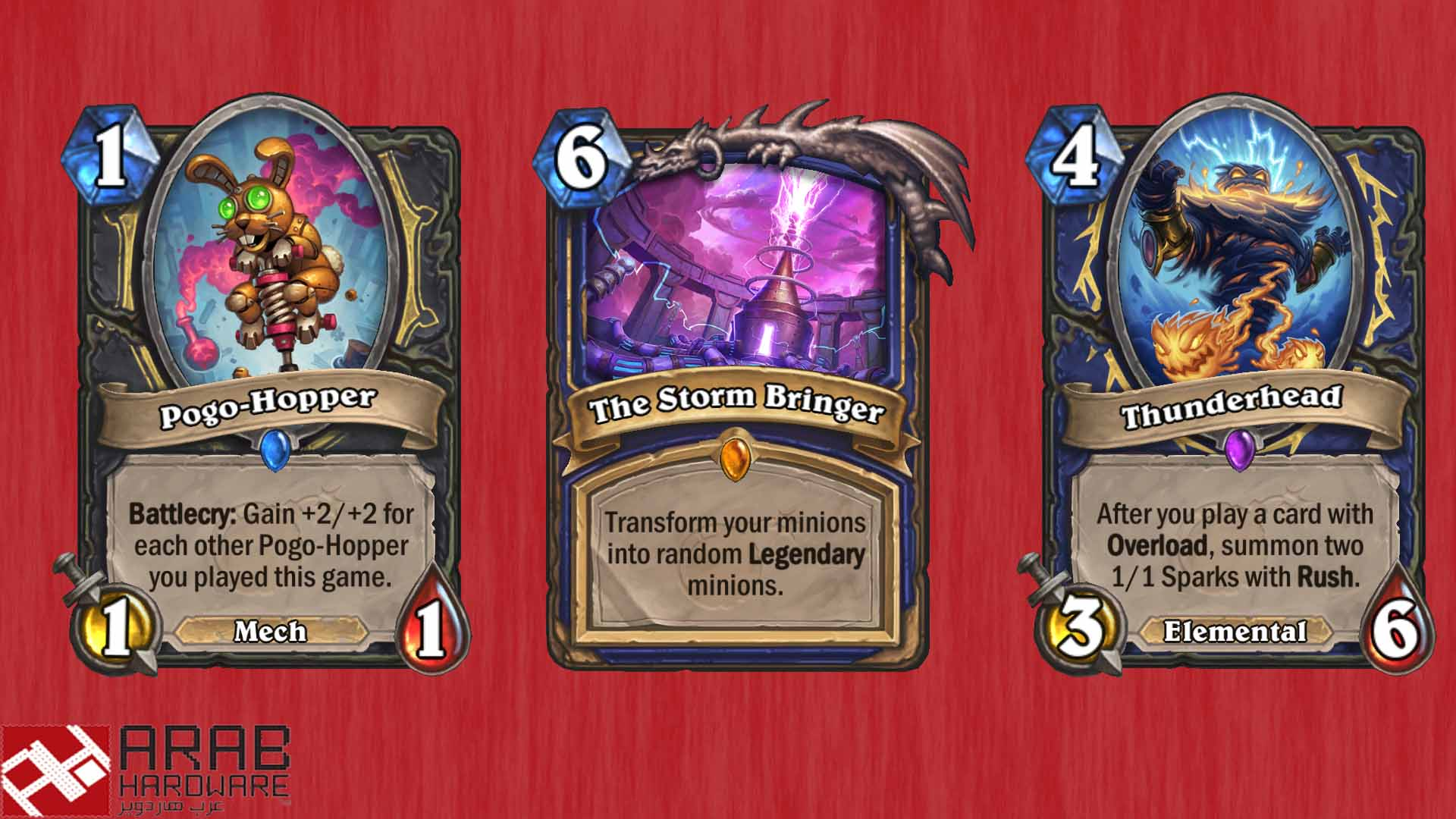 Hearthstone blizzard rise of the mech