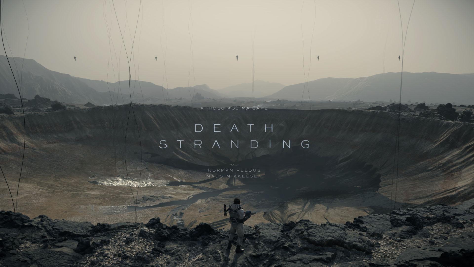 death stranding hideo kojima