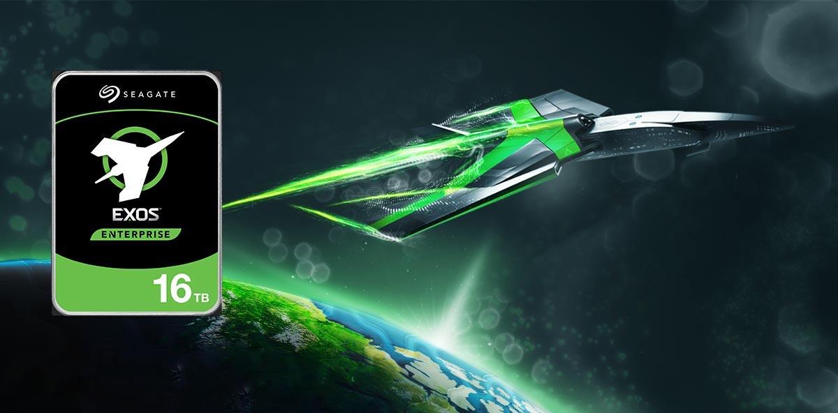 Seagate EXOS X16 HDD قرص بسعة 16 تيرابايت