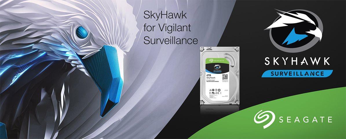 أقراص HDD التخزينية من Seagate -- Skyhawk