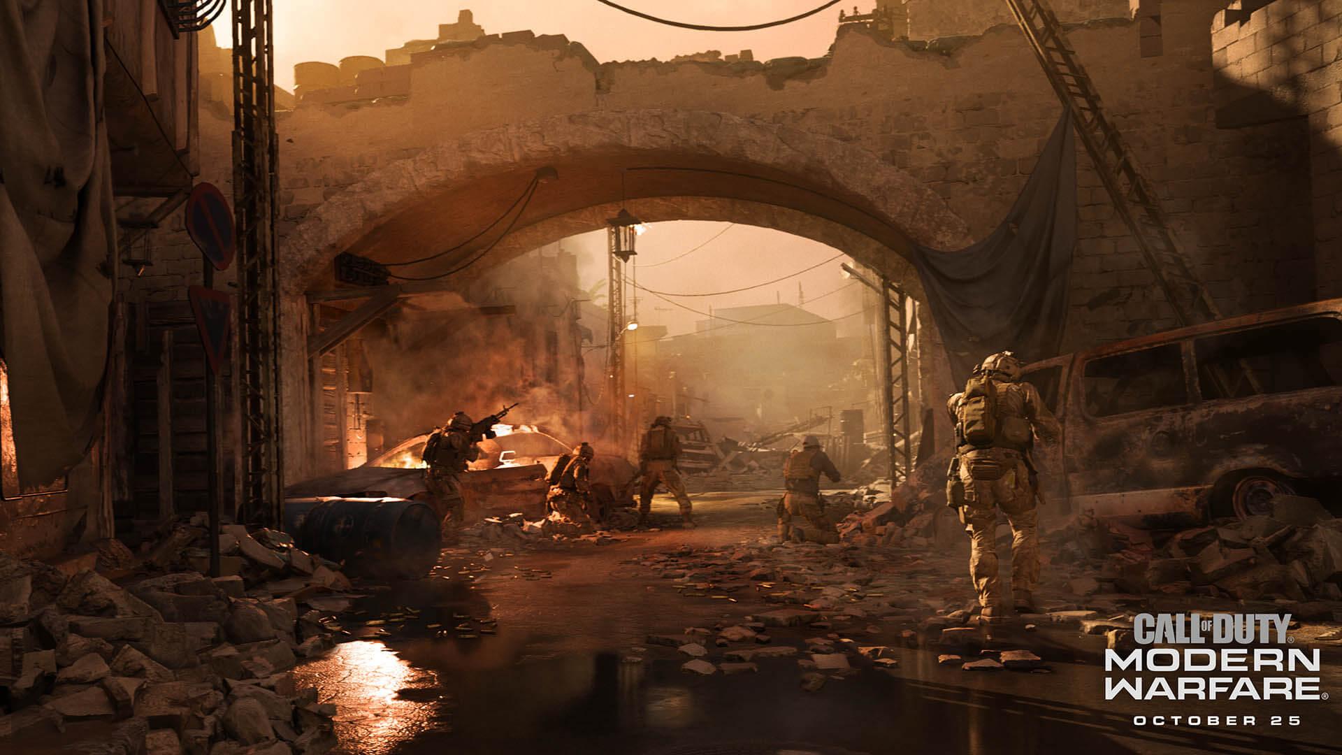 call of duty modern warfare cross play
