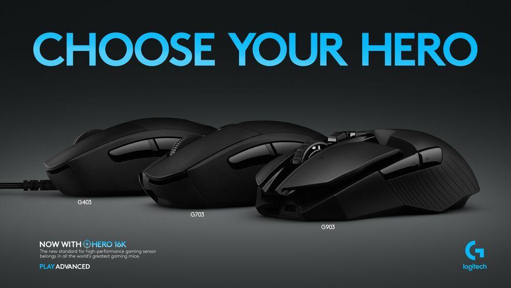 Logitech New 16K Sensor for 3 mouses