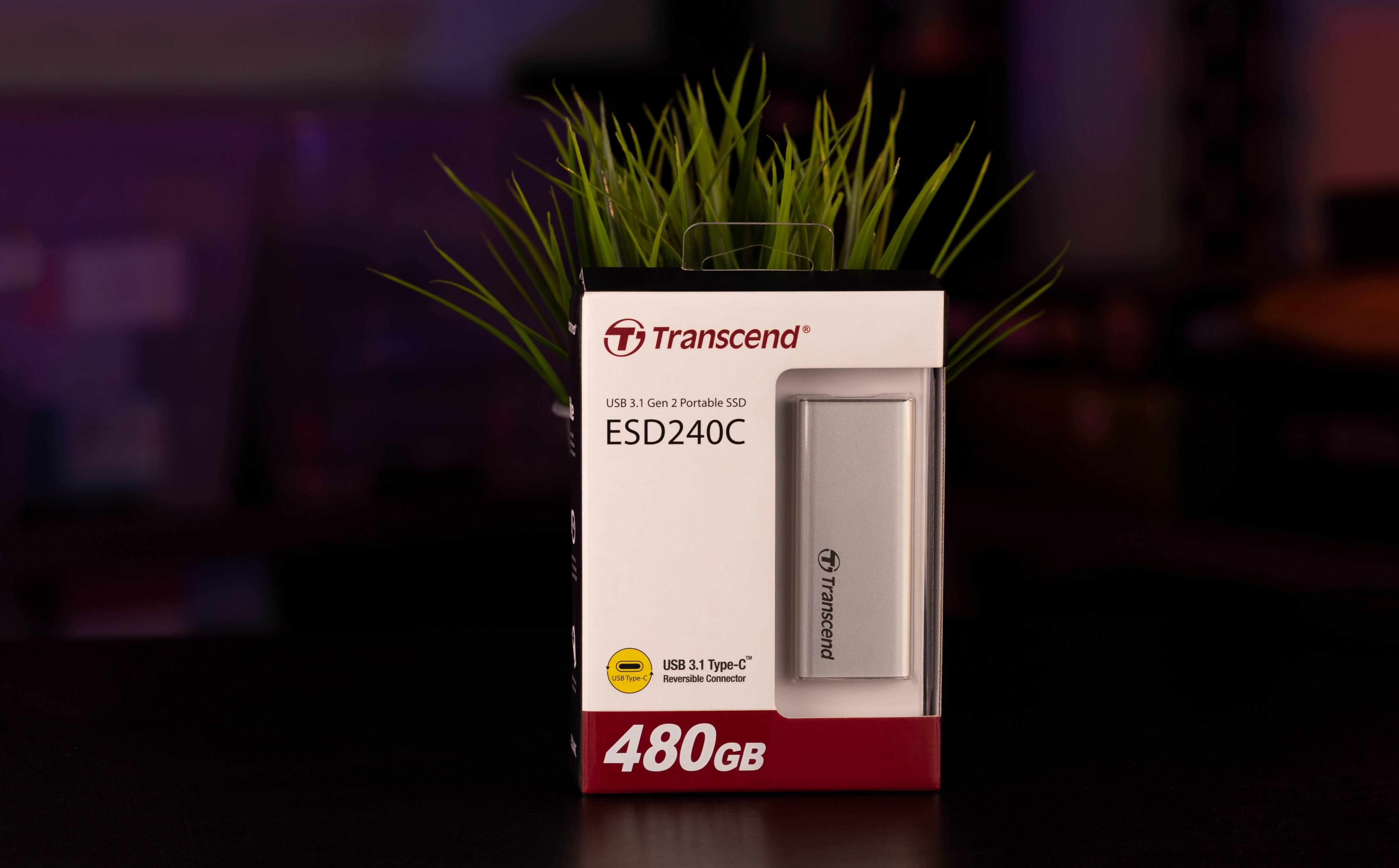 Transcend ESD240C 480GB