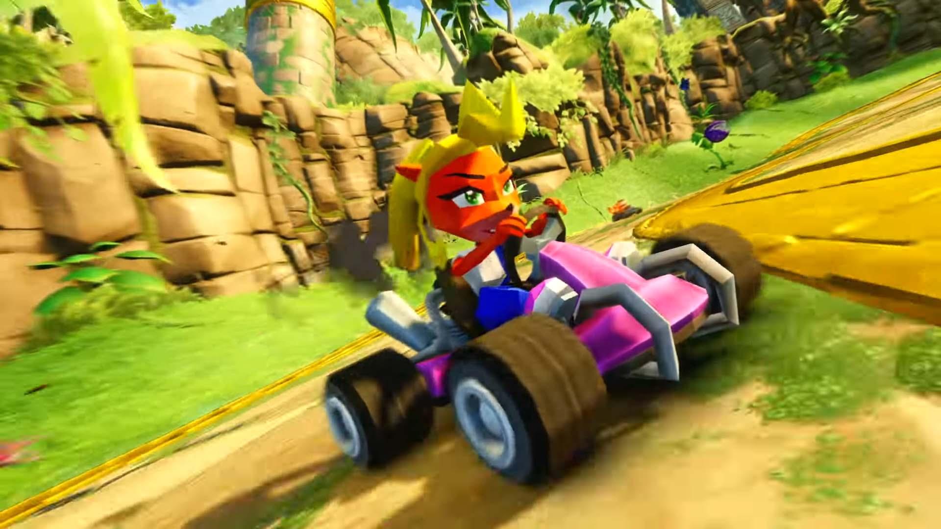 crash team racing nitro fueled beenox