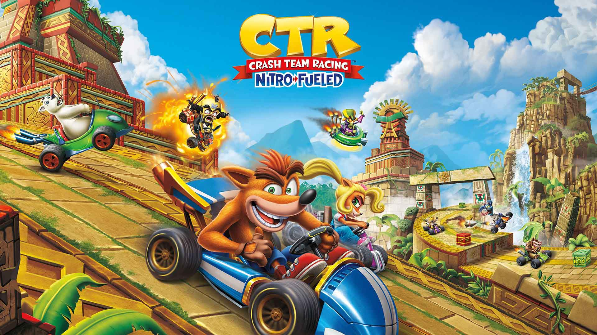 crash team racing nitro fueled beenox