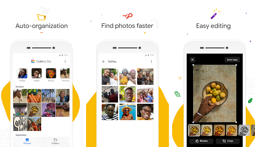 جوجل تطلق تطبيق Gallery Go لهواتف الفئة الاقتصادية
