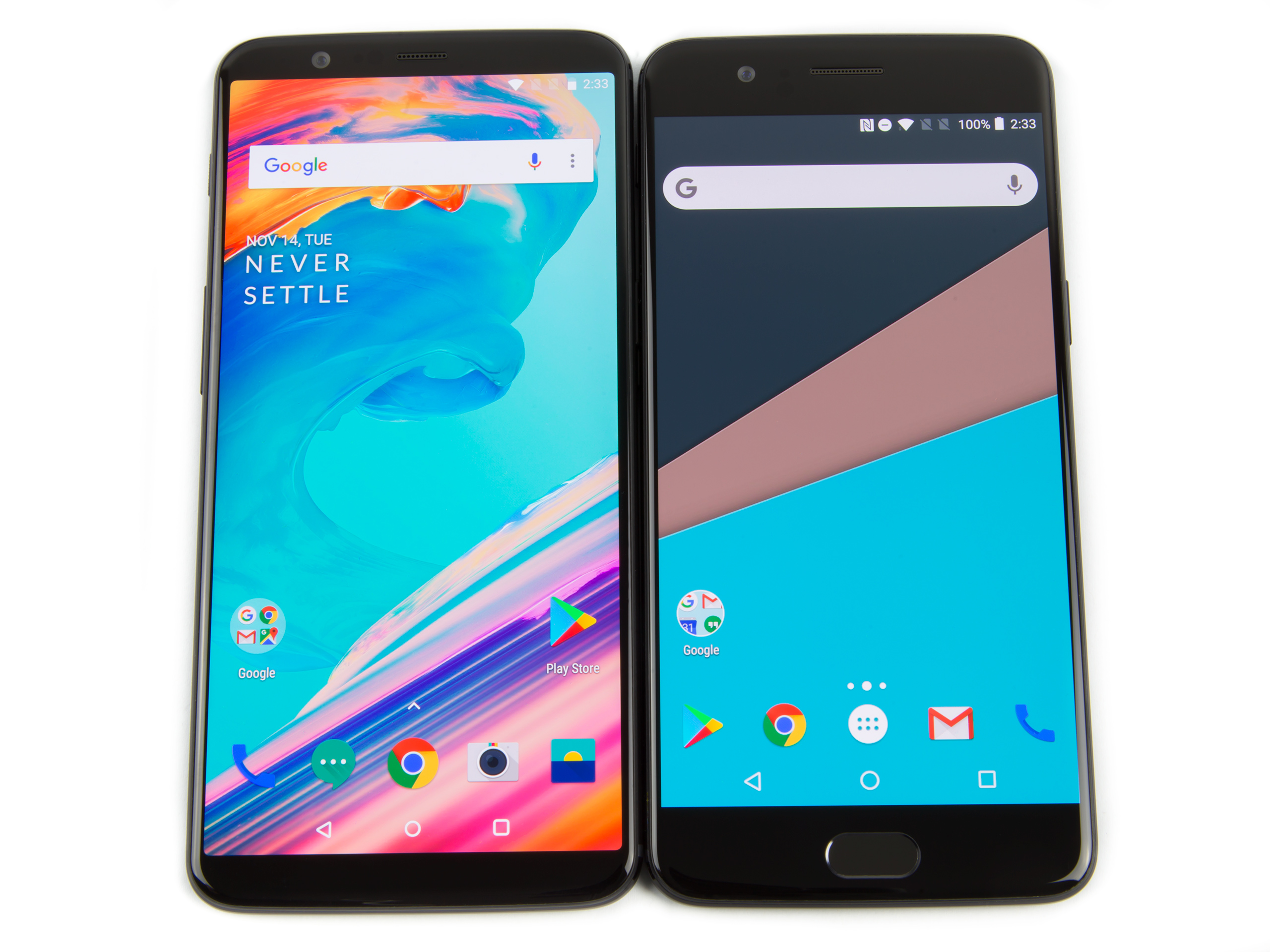 OnePlus 5T and OnePlus 5T