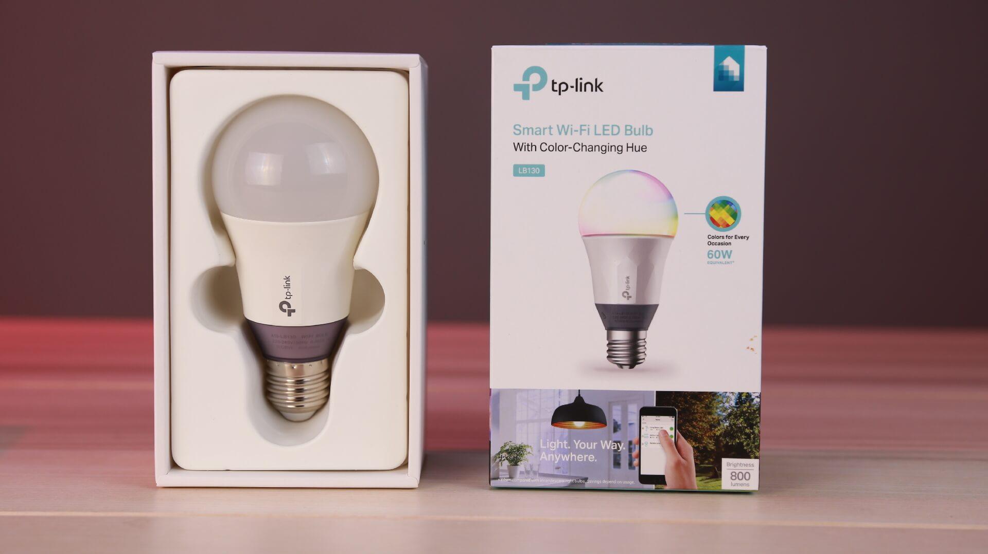 مراجعة المصباح الذكي TP-Link Kasa LB130 | إبدأ منزلك الذكي