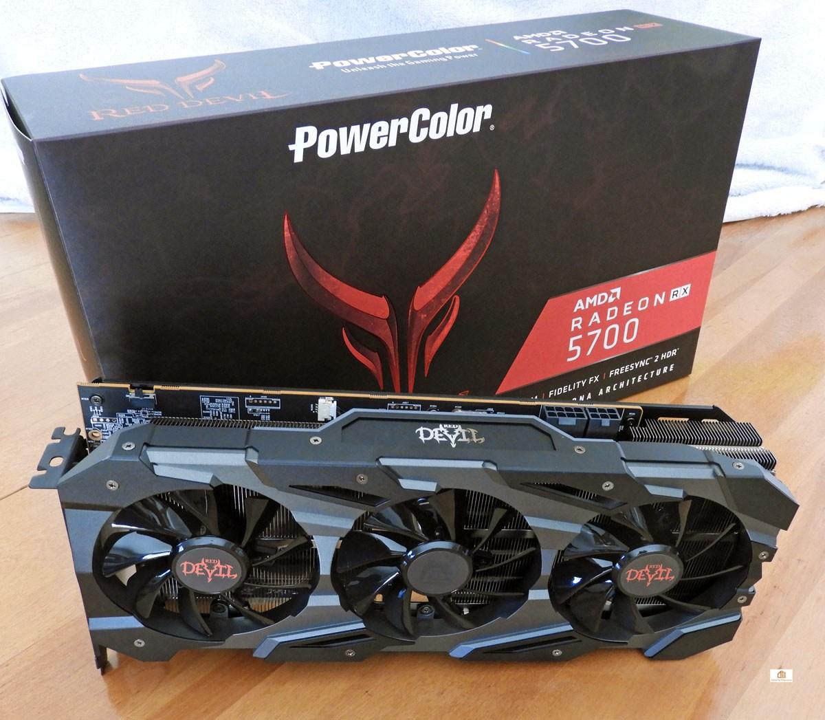 AMD RX5700 Red Devil's