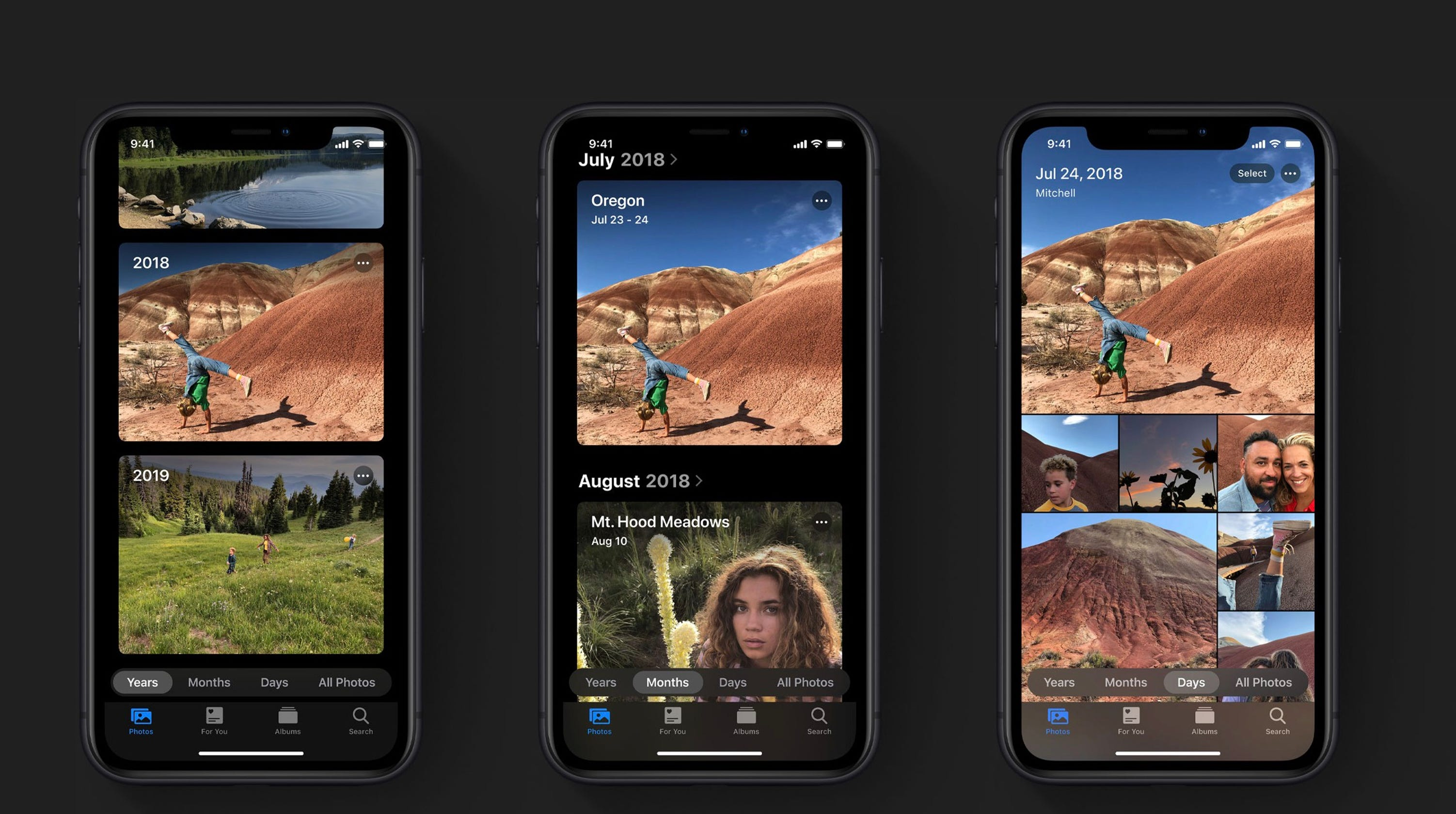 مميزات نظام iOS 13 - تطبيق Photos