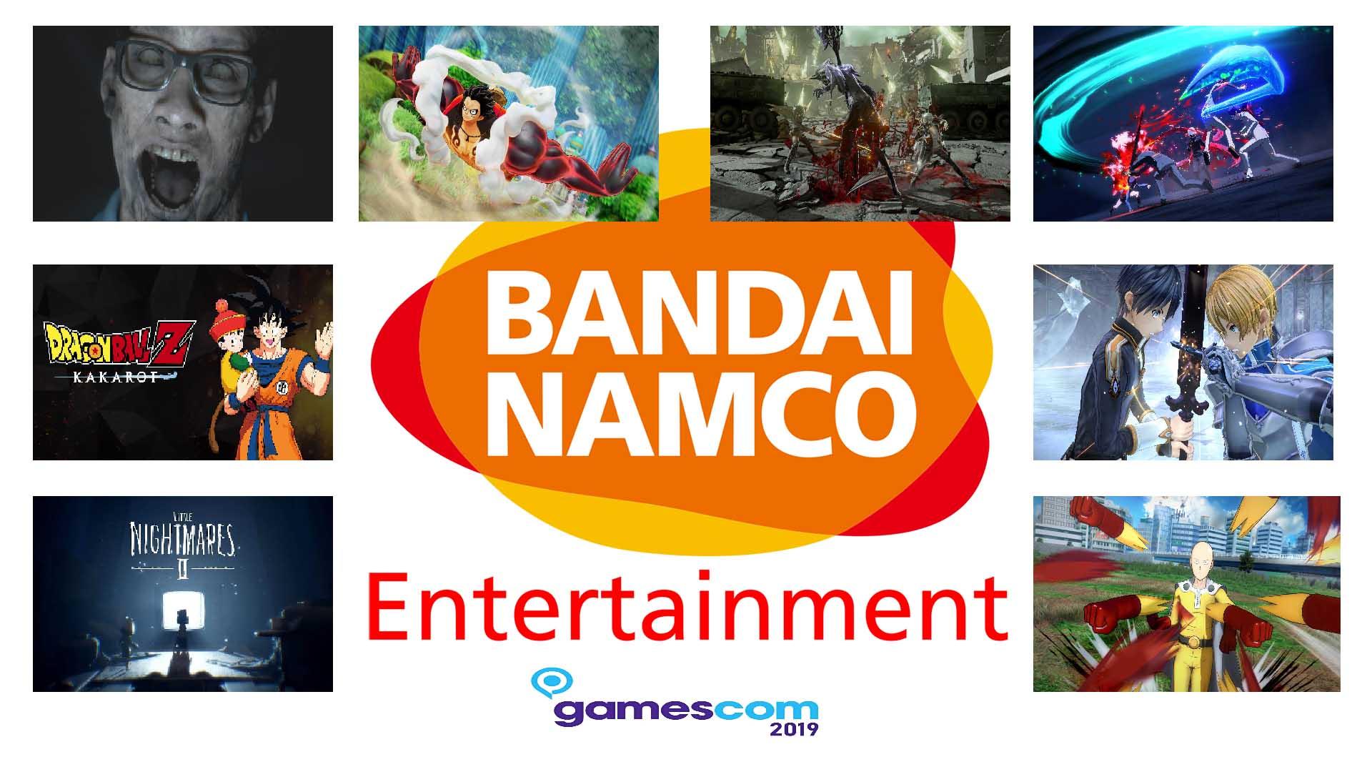 bandai namco entertainment gamescom 2019