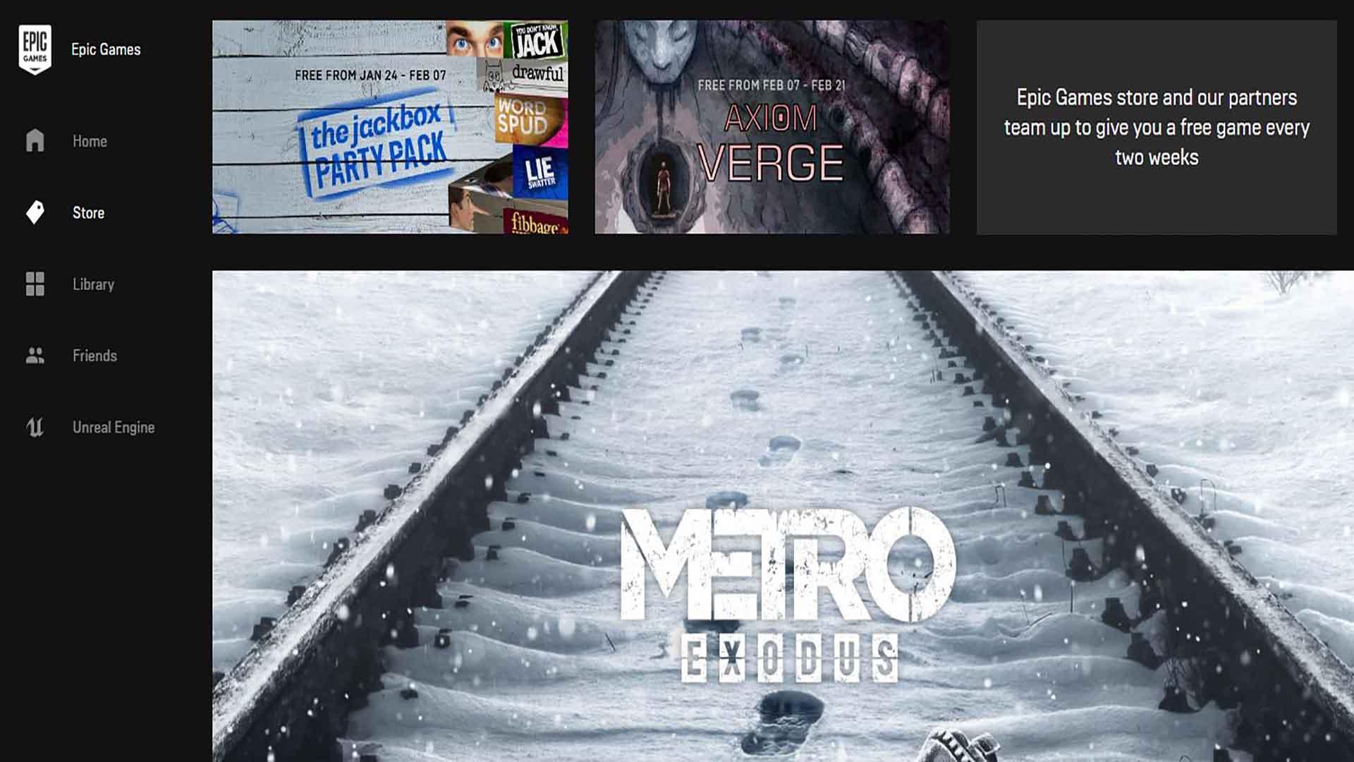 metro exodus deep silver epic games