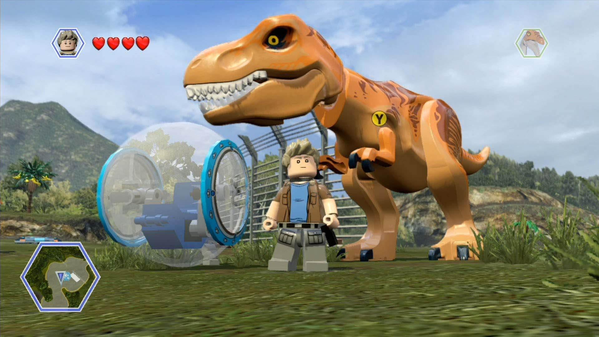 jurassic world lego warner bros