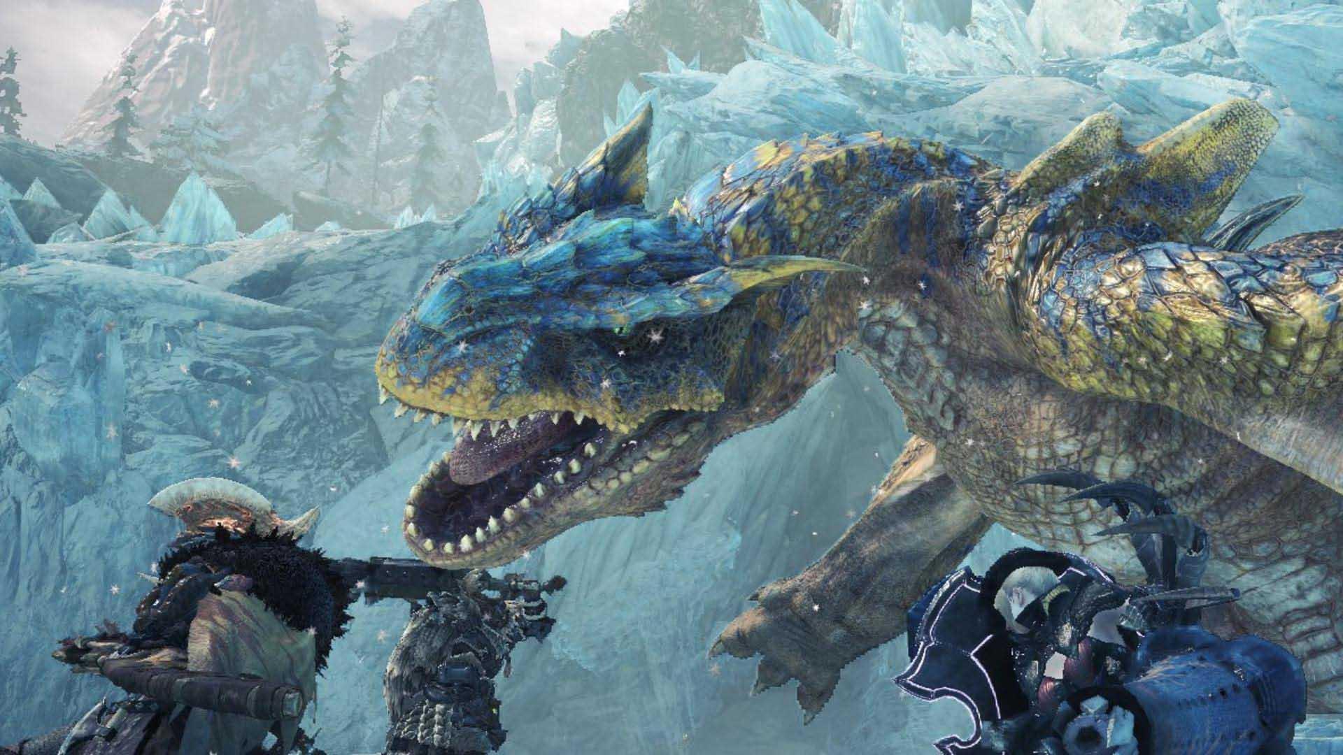 monster hunter world iceborne capcom
