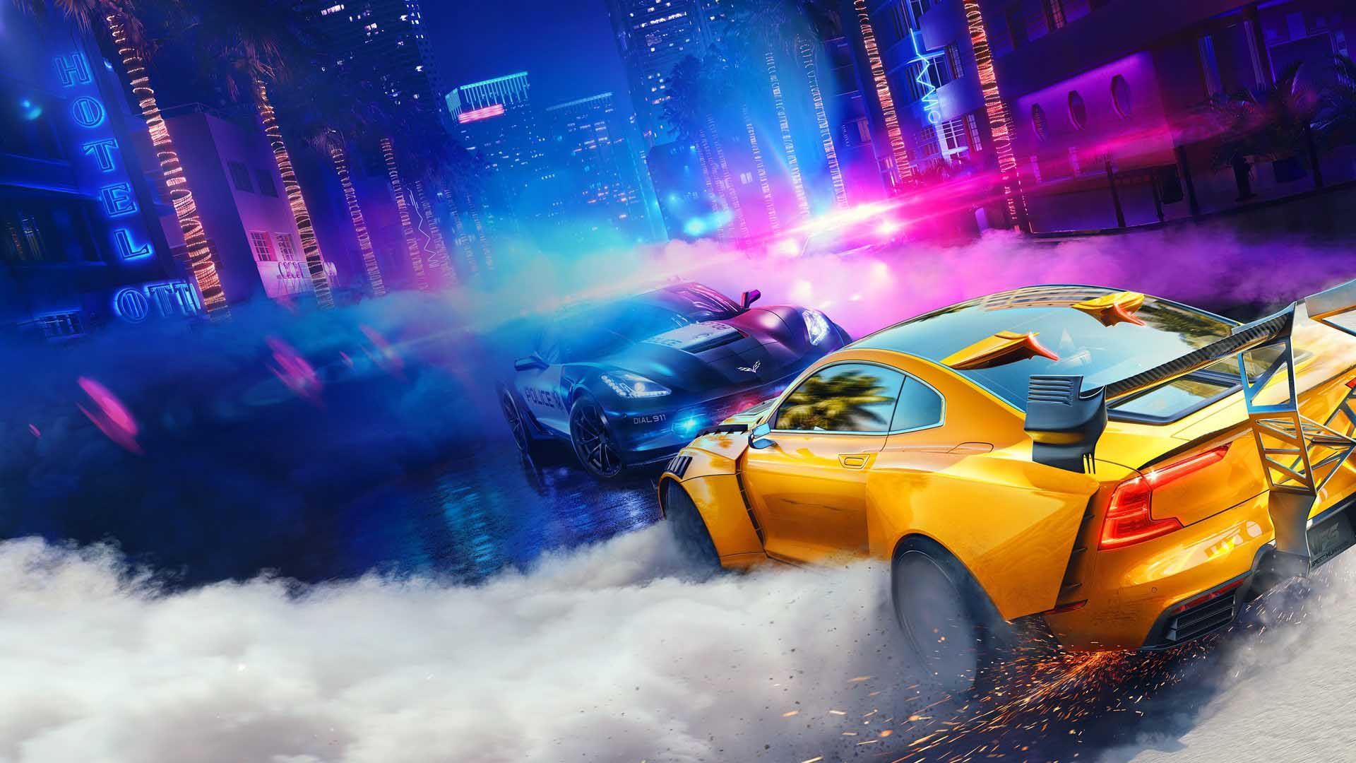 NFS heat ghost games Need For Speed