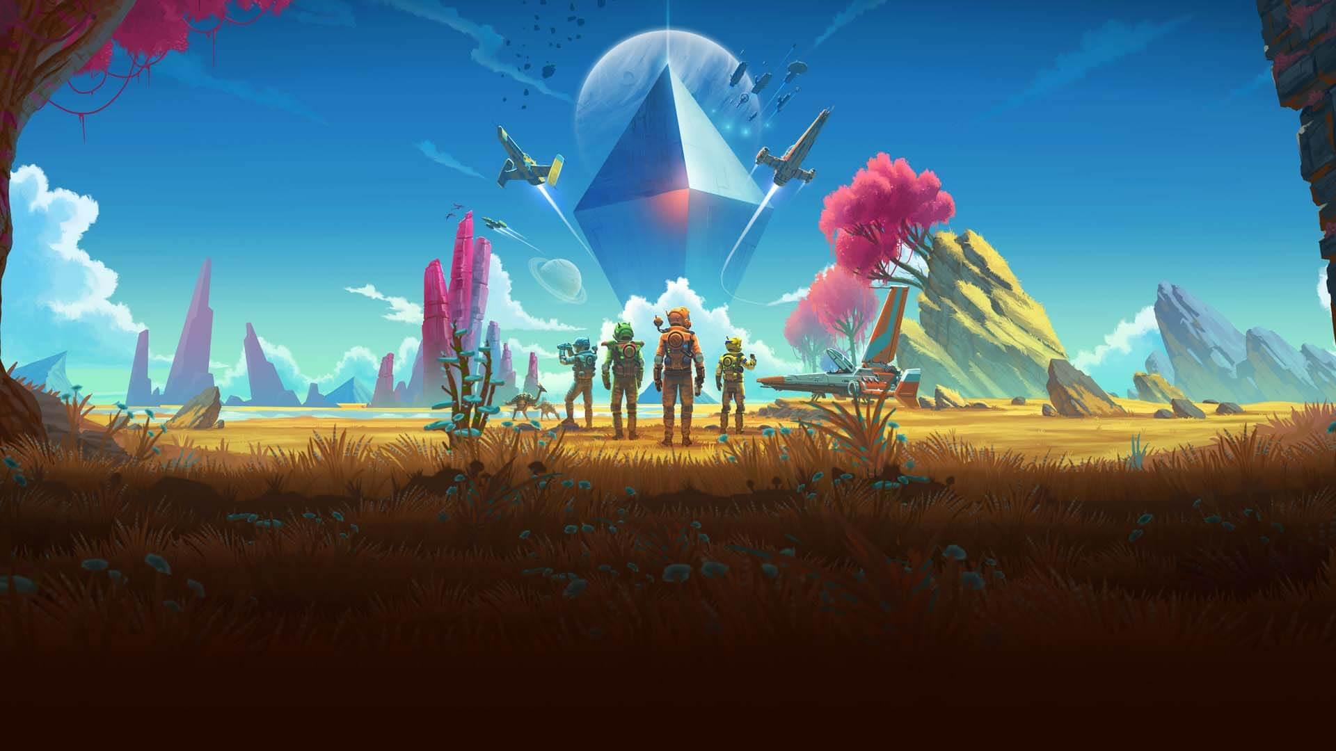 no man's sky beyond hello games التحديث