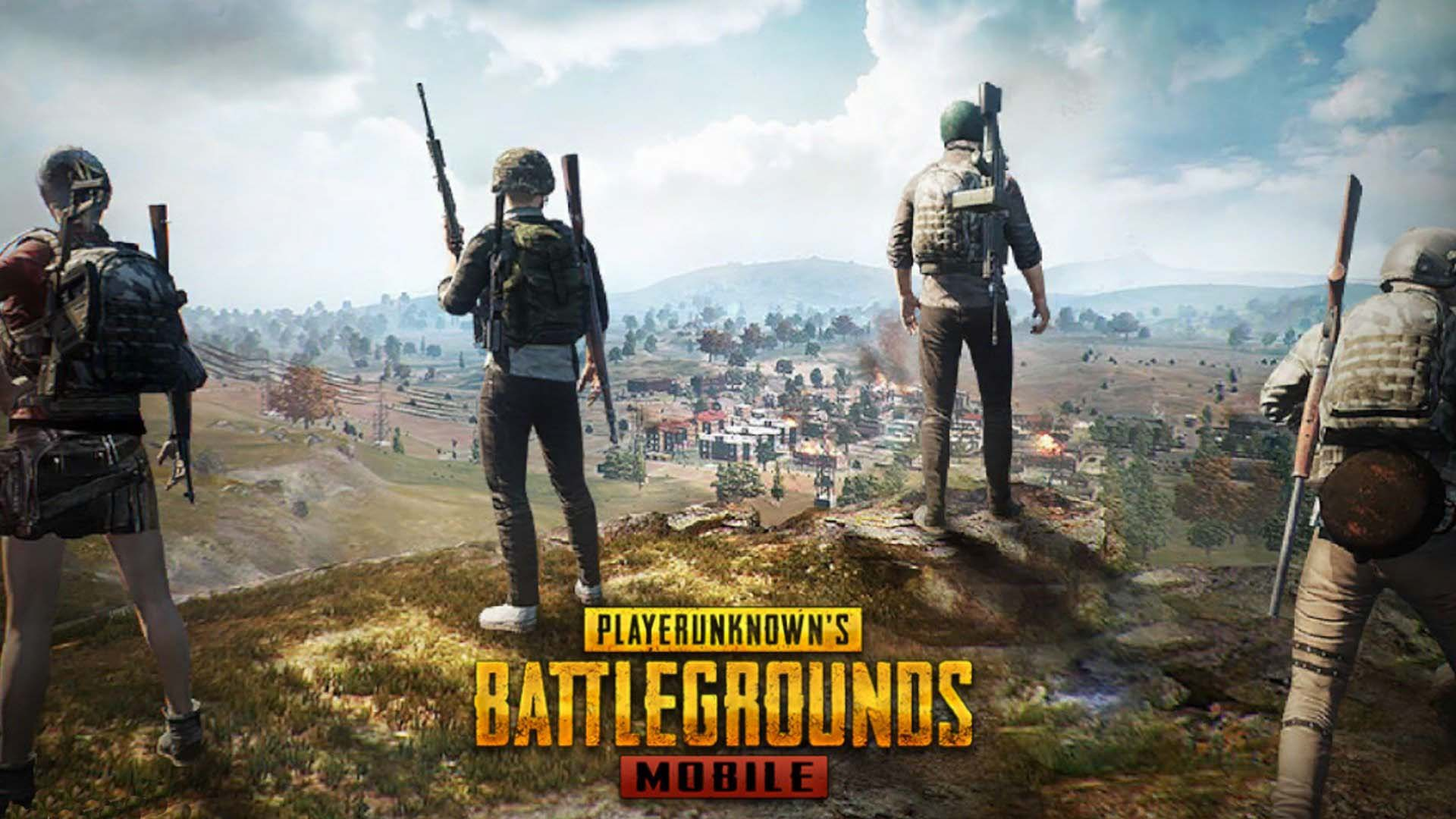 لعبة pubg mobile tencent