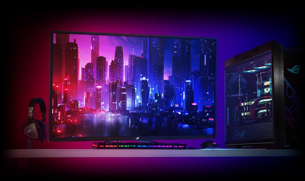شاشة ASUS الكمبيوتر
