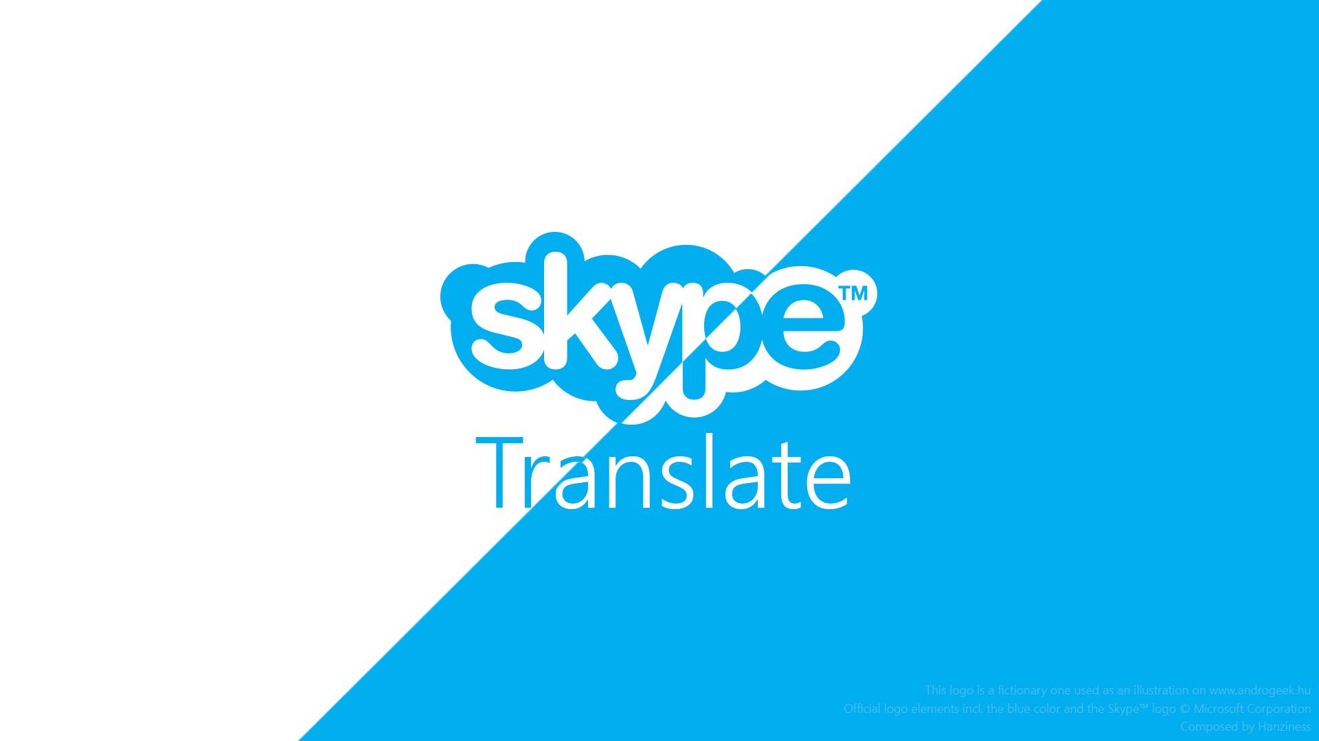 Microsoft Skype Translate