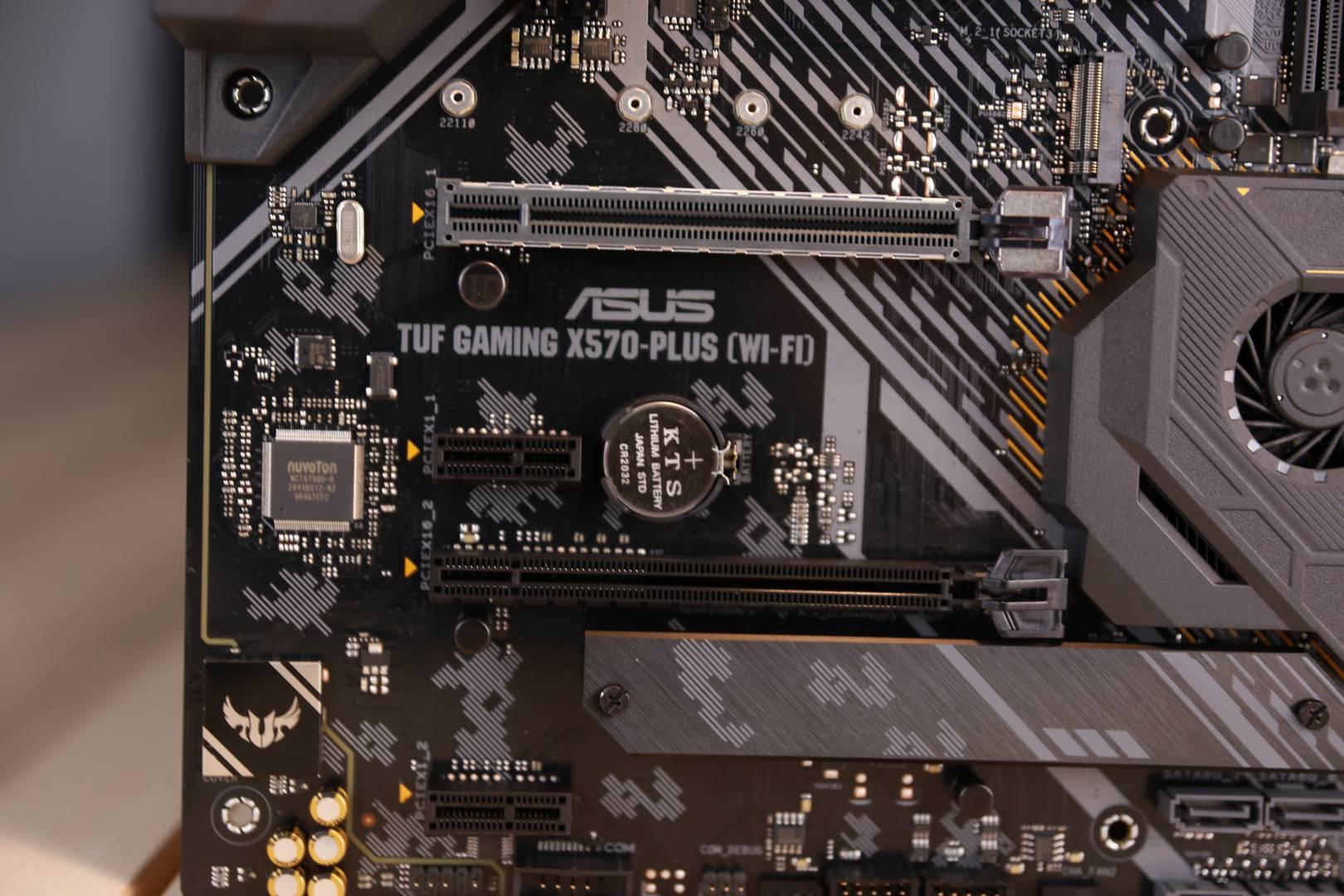 ASUS TUF X570 SSD Slot