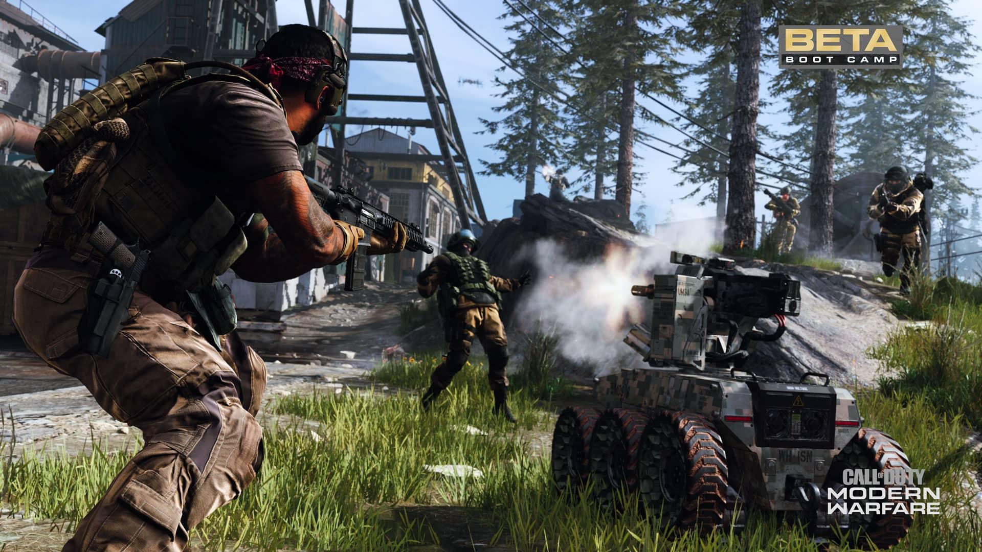COD Modern Warfare Beta
