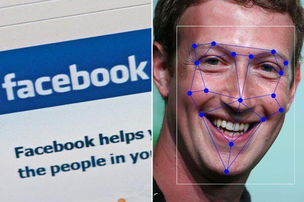 خاصية التعرف على الوجوه