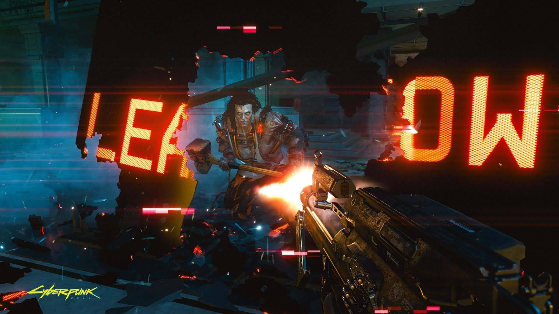 cd projekt red لعبة Cyberpunk 2077 cut scenes