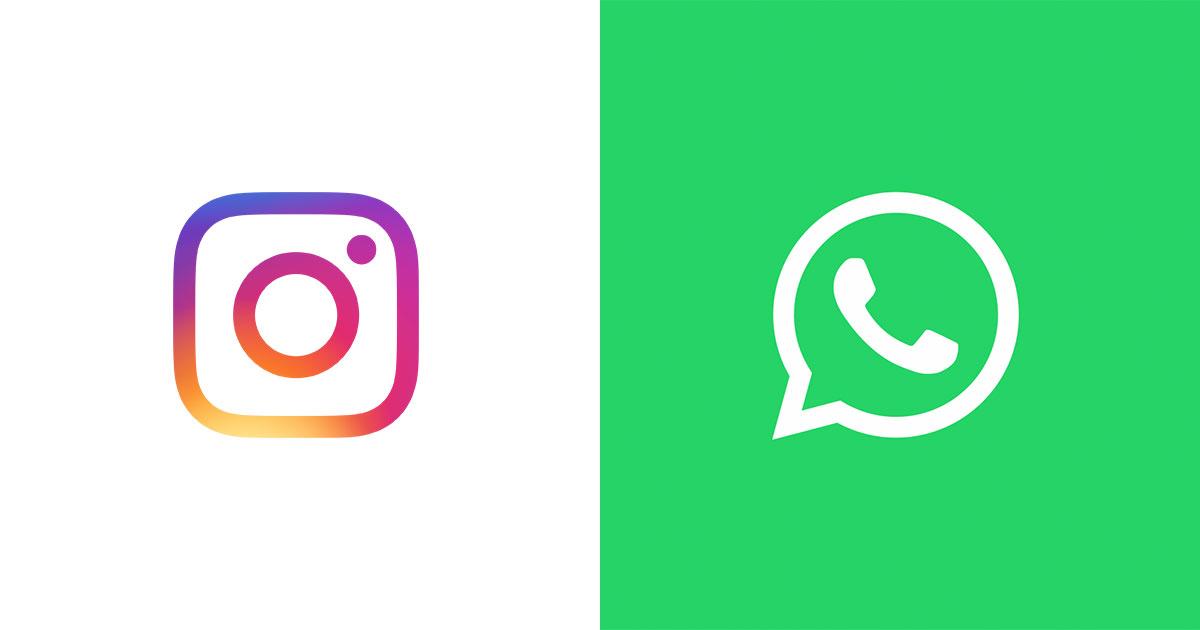 Instagram - Whatsapp
