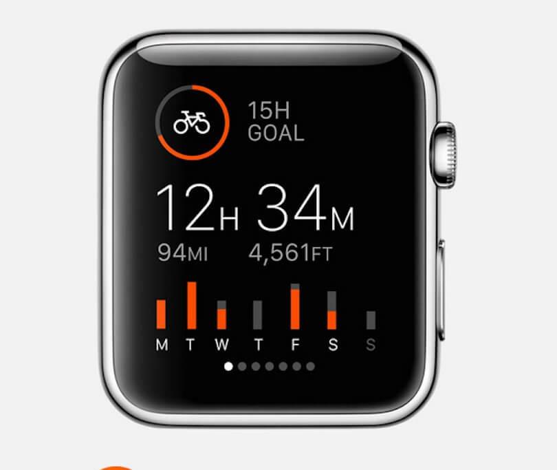 ساعة أبل الذكية