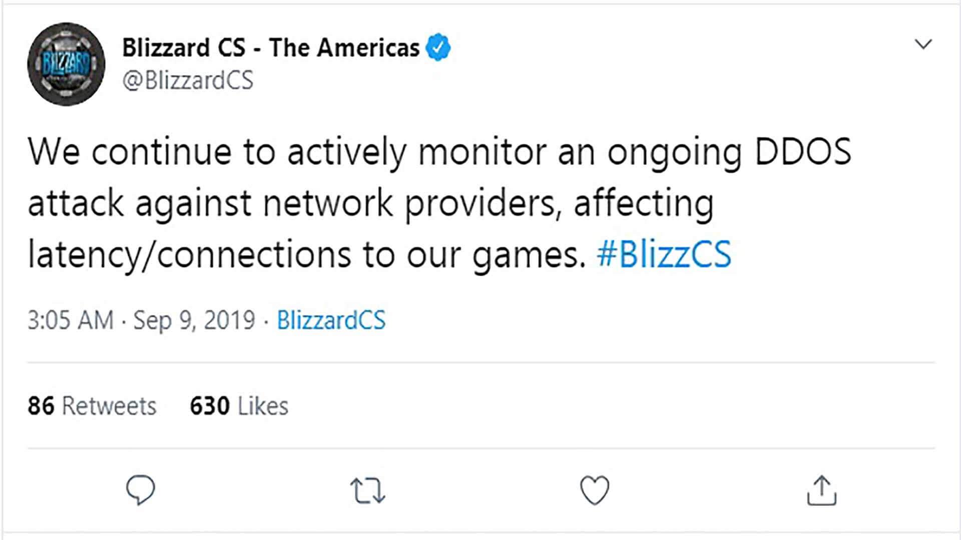 world of warcraft classic ddos servers attacks