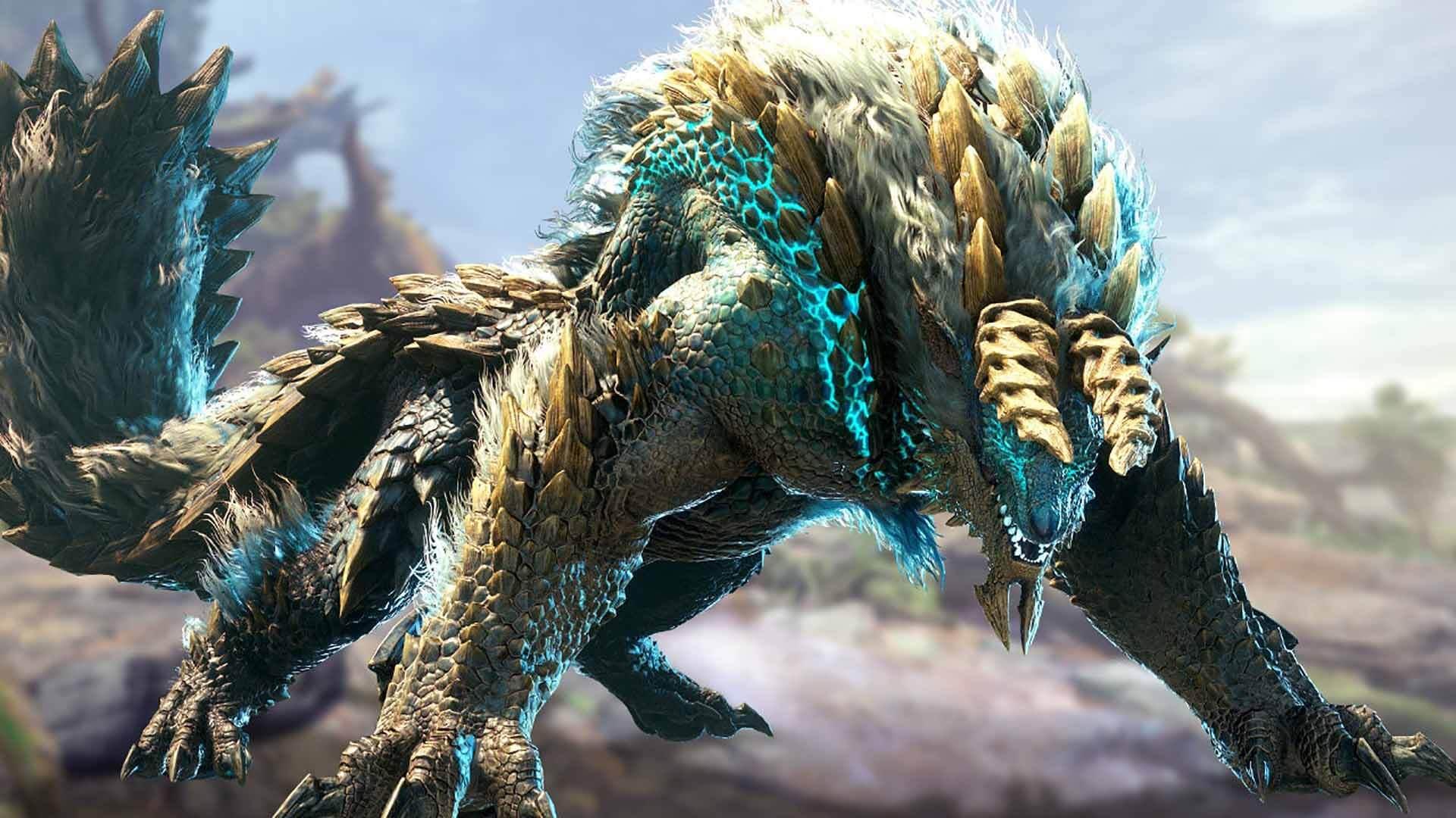 monster hunter world iceborne zinogre