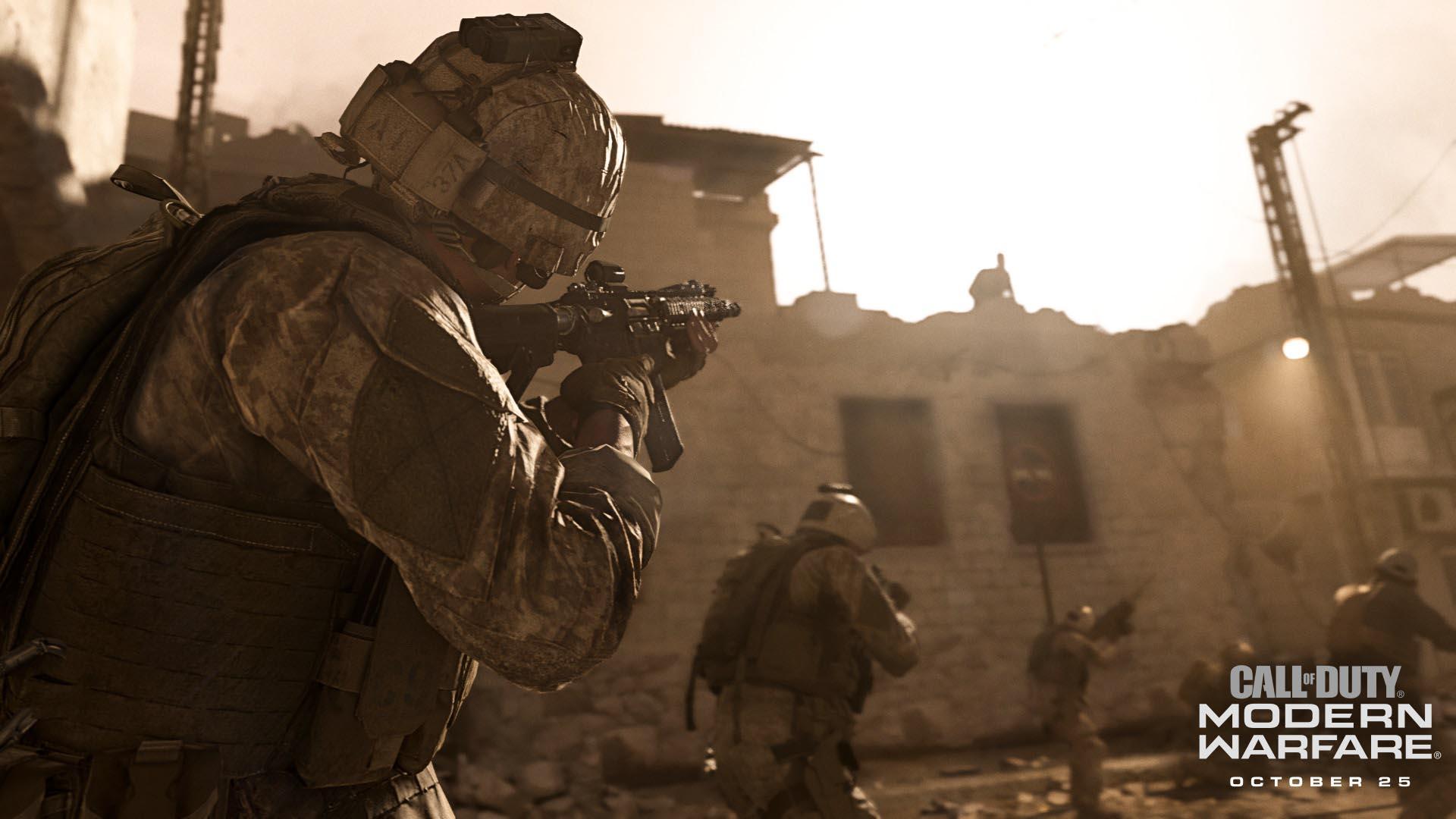 inifnity ward call of duty modern warfare launch trailer